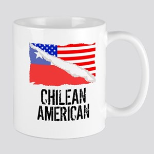 Chilean American Flag Mugs